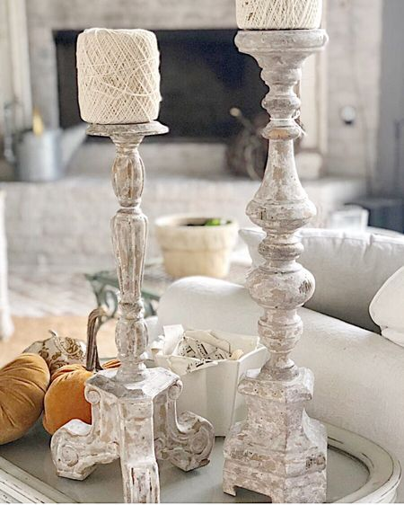 . I love any type of home decor that is french inspired!  These candlesticks are some of may favorites, and I picked them up at a thrift store.  I've linked several that are a very similar look.    http://liketk.it/33Qsg @liketoknow.it @liketoknow.it.home #liketkit #StayHomeWithLTK #LTKhome #LTKunder50    You can instantly shop all of my looks by following me on the LIKEtoKNOW.it shopping app