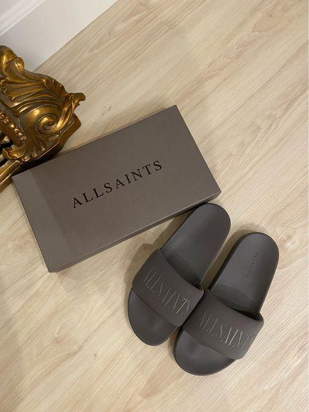 Men's AllSaints sandals. All Saints men's wear. Comfy. Nordstrom Sale   #LTKsalealert #LTKfit #LTKstyletip