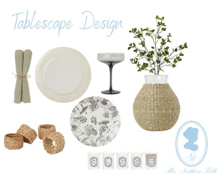 My favorite things to do is design a pretty tablescape! I love piecing things together to create a magical ambience 🖤   #LTKhome #LTKunder50