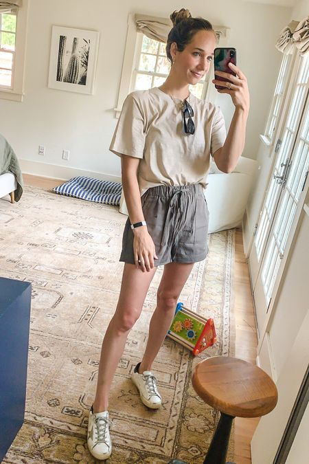 Casual outfit for a trip to the zoo with my boys. Love these amazon finds   #LTKshoecrush #LTKunder100 #LTKunder50
