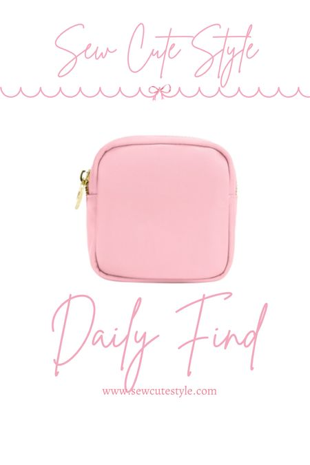My favorite Stoney Clover Lane size is the mini pouch! Perfect for everyday use.   #LTKunder100 #LTKtravel #LTKunder50