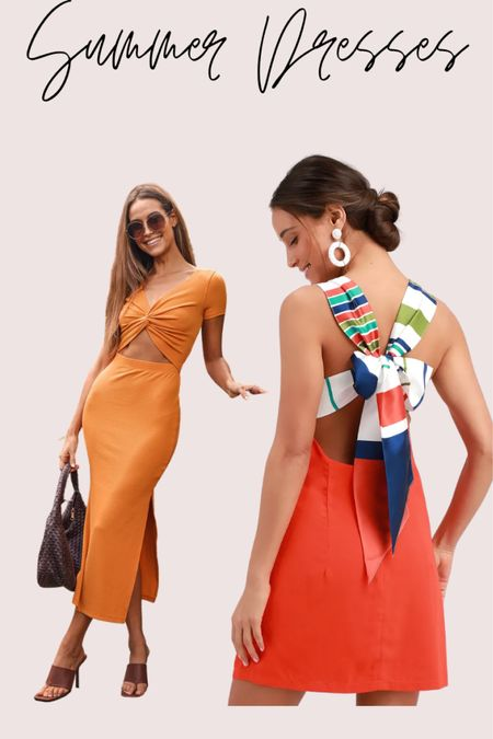 Best summer dresses from lulus   #LTKtravel #LTKSeasonal #LTKstyletip