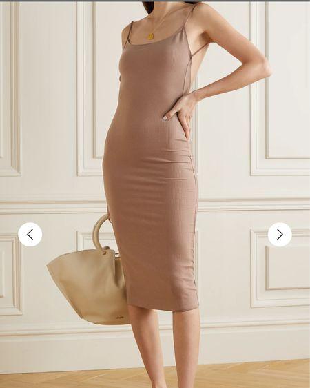 This is the PERFECT neutral dress! http://liketk.it/3e0YL #liketkit @liketoknow.it #reformation #netaporter #LTKunder50 #LTKstyletip