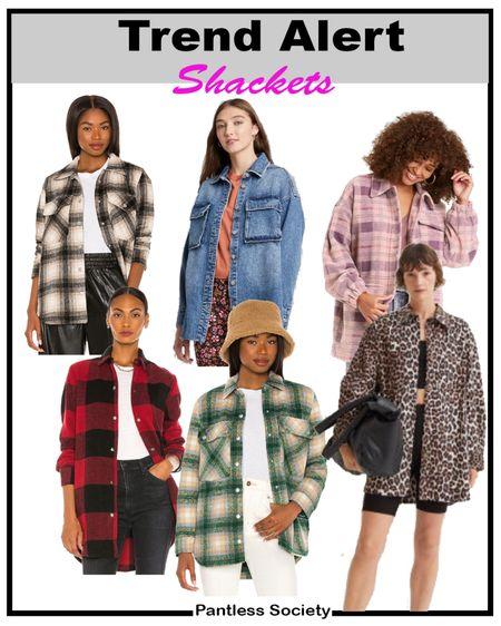 Fall jacket. Shackets. Shackets of the season. Fall shacket. Plaid shacket. Denim shacket. Denim shirt. Target style. Animal print. Plaid jacket. Travel clothes. Layering piece. Fall wardrobe must have.  #LTKstyletip #LTKSale #LTKtravel