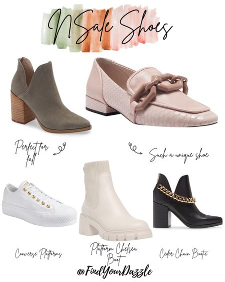 A few of my favorite shoes, boots, and sneakers from the 2021 Nordstrom Anniversary Sale! Perfect for fall and summer to fall transition!    #LTKunder50 #LTKunder100 #LTKSeasonal