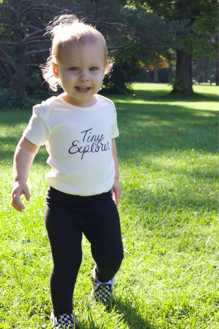 This onesie came in a 3 pack from Nordstrom and they're our favorite for every day play.   #LTKSale #LTKfamily #LTKkids