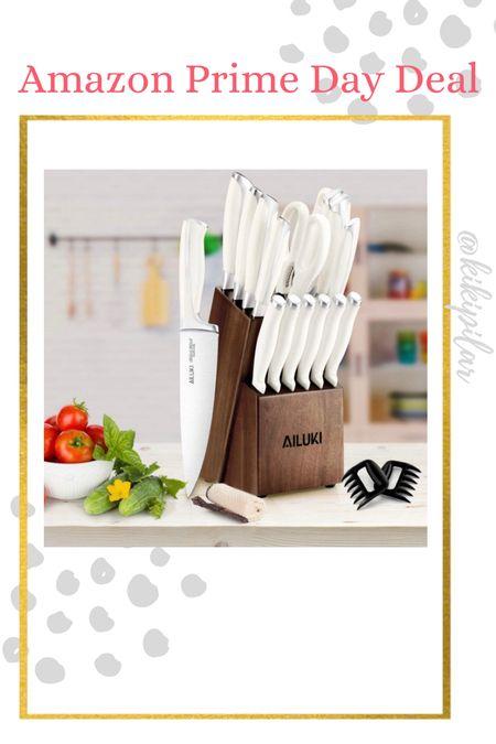 Amazon Prime Day Deal // home decor // kitchen utensil // knife set   #LTKsalealert #LTKunder100 #LTKhome