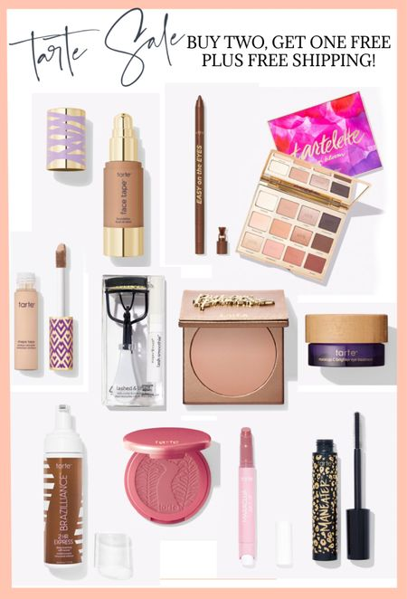 @tartecosmetics is doing a great sale today! Buy two, get one FREE. Plus free shipping on all orders! Use code FREE at checkout.   #LTKunder50 #LTKsalealert #LTKbeauty