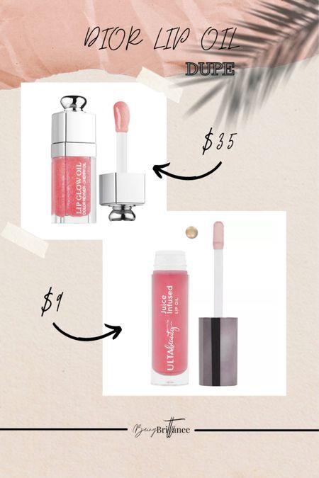 Dior lip oil dupe for under $10  #LTKbeauty #LTKSale #LTKGiftGuide