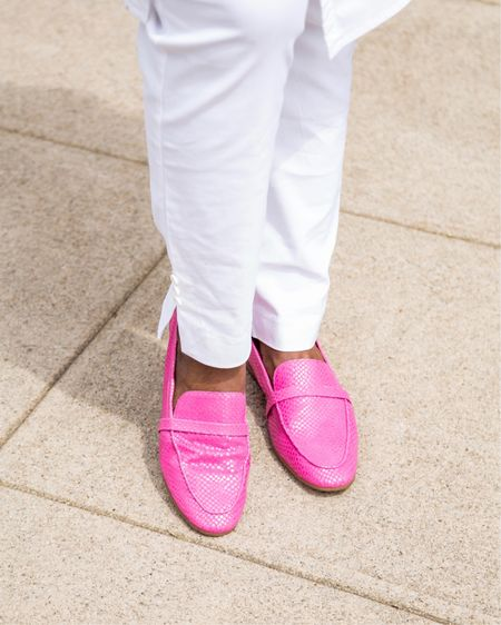 Pink loafers it is.  . . @vionicshoes ZANA LIZARD PRINT LOAFER .  . Comfy and gorgeous, what more could you ask for? . . 📸 @cytherial_  . .  Shop your screenshot of this pic with the LIKEtoKNOW.it shopping app @liketoknow.it #liketkit http://liketk.it/3hbA9  . . . . .  #LTKshoecrush #LTKsalealert #LTKunder50  #vionicshoes  #gifted #loafer #comfy #flats #luxuryshoes #womenwhomeanbusiness #blackinfluencerover50 #everydaystyle #shoeloveistruelove #style #footwear #stylishparadox