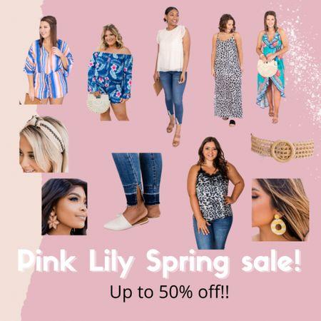 🚨 Pink Lily Spring Sale 🚨 Up to 50% off some great styles!    http://liketk.it/3hwEb #LTKunder50 #LTKsalealert #LTKstyletip #liketkit @liketoknow.it
