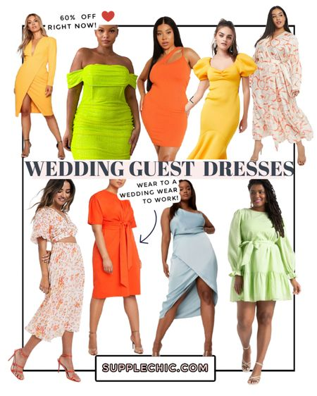 Wedding Guest Dresses #PlusSize #Midsize #VacationOutfit #WhatToWearNow #BusinessCasual #LTKday  #LTKsalealert #LTKcurves #LTKSeasonal