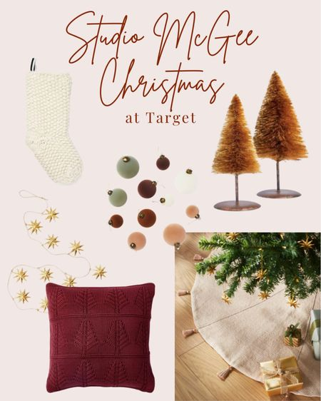 New Studio McGee Christmas at Target!   #LTKhome #LTKHoliday #LTKSeasonal