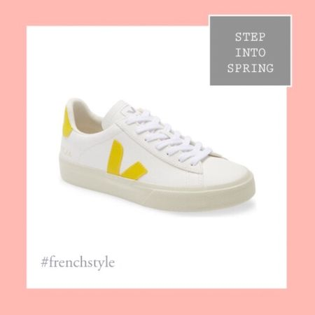 Step into spring with these colorful veja sneakers that are oh so chic!  #LTKstyletip #LTKshoecrush #LTKfit http://liketk.it/39MhU #liketkit @liketoknow.it