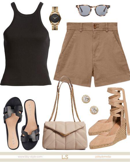 Chic summer outfit   #LTKunder50 #LTKsalealert #LTKstyletip