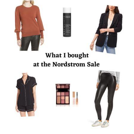 Nordstrom Sale!  #nsale #nordstromsale #fashionover50 #fashionover40 #casualoutfits #outfitinspo #spanx #over40fashion  #LTKbeauty #LTKsalealert