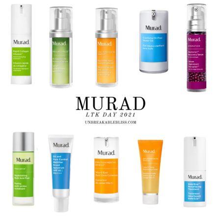 Some great skincare picks from blogger-favorite brand Murad! @liketoknow.it #liketkit #LTKDay #LTKbeauty #LTKsalealert http://liketk.it/3hchH