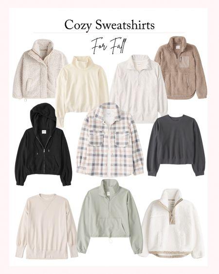 Cozy Sweatshirts for Fall - Favorite sweaters, fall fashion, fall outfits   #LTKstyletip #LTKSeasonal