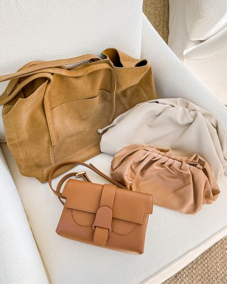 Fall Bag, Fall Handbag, Fall Purse  Shared a peek at my fall bags on stories today! Plus, tips on where to find affordable handbags with good quality AND where to find pre-loved designer bags on a discount.  #fallaccessories #fallbags #fallfashion #falltrends #clutch #clutchpouch #natalieyerger