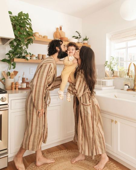Striped loungewear with oddbird x madewell 🧡 my favorite robes and two piece sets 🙌🏼 http://liketk.it/3fW19 #liketkit @liketoknow.it #LTKfamily @liketoknow.it.family