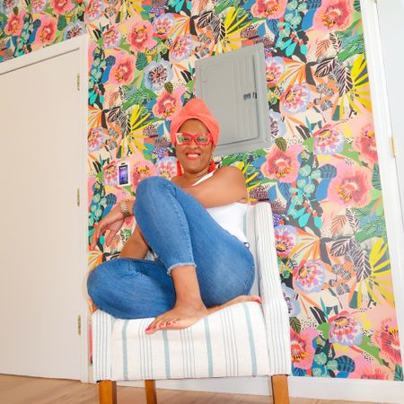 Colorful, bold wallpaper pattern @liketoknow.it #liketkit #LTKhome @liketoknow.it.home http://liketk.it/3lkqY