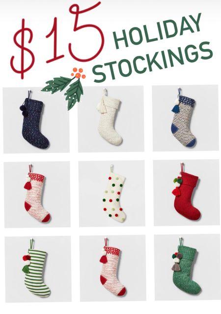 $15 stockings  #LTKSeasonal #LTKHoliday #LTKhome