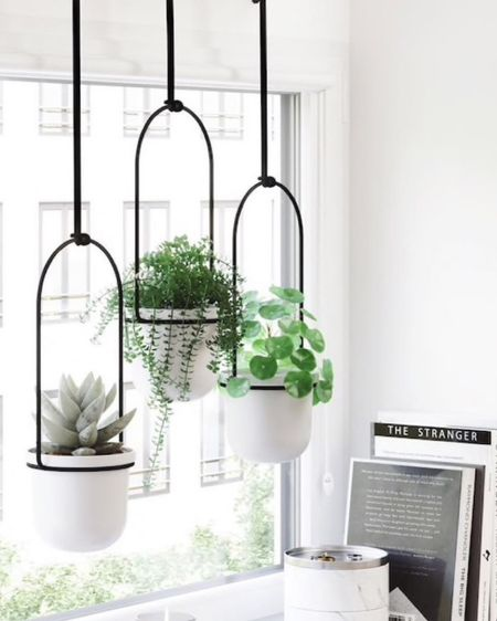 So in love with the look of this hanging planter! What do you think?   I've rounded up this style and a few of my favorites to shop with the link in my bio! http://liketk.it/3f7zb #liketkit @liketoknow.it #LTKhome #LTKunder100 #LTKunder50