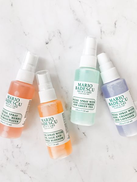 Springtime is here and the weather is warming up! Whenever I need to freshen up, I spritz the Mario Badescu facial spray all over my face, my neck, and in my hair. These facial sprays are ideal for all skin types. They're available in four different scents such as rosewater, orange blossom, green tea, and lavender. You can find the full size bottles at Ulta and Sephora for $12 each. Find your favorite scent now!  #LTKunder50 #LTKbeauty #LTKSeasonal