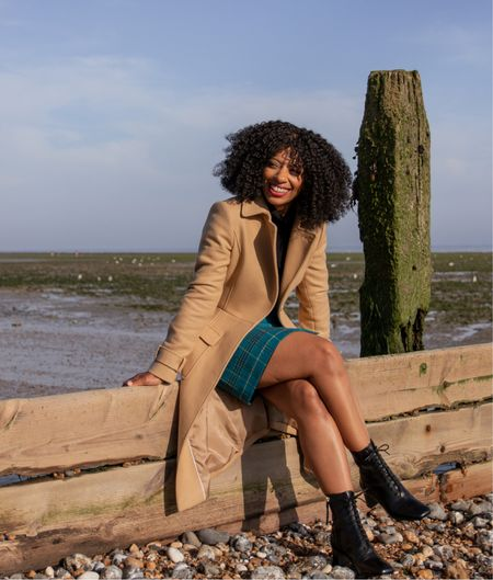 Long camel winter coat from Hobbs London  #LTKSeasonal #LTKworkwear #LTKeurope