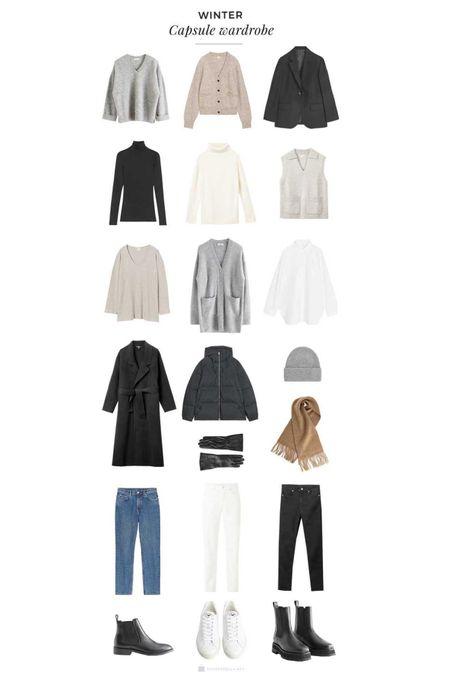 Winter Capsule Wardrobe Basics Roundup http://liketk.it/35ksO #LTKstyletip #LTKeurope @liketoknow.it #liketkit