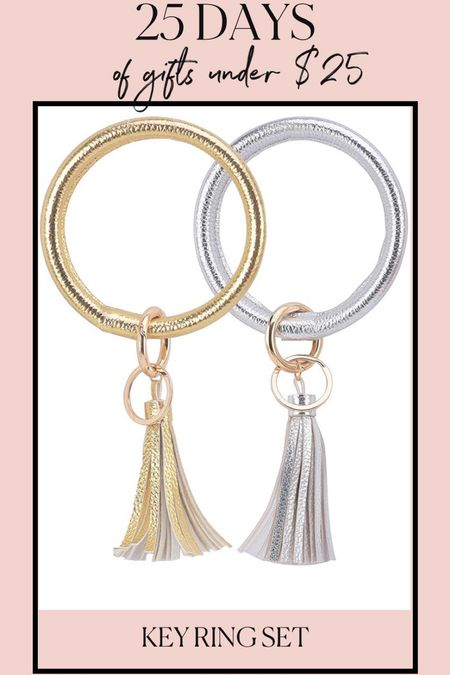 Gifts for her under $25! Key rings make great gifts and stocking stuffers! Found this pack of 2 on Amazon for under $10! #amazonfinds #amazon #christmasgifts #stockingstuffers #keyring #giftsforher #giftguide #giftsunder25  #LTKHoliday #LTKGiftGuide #LTKunder50