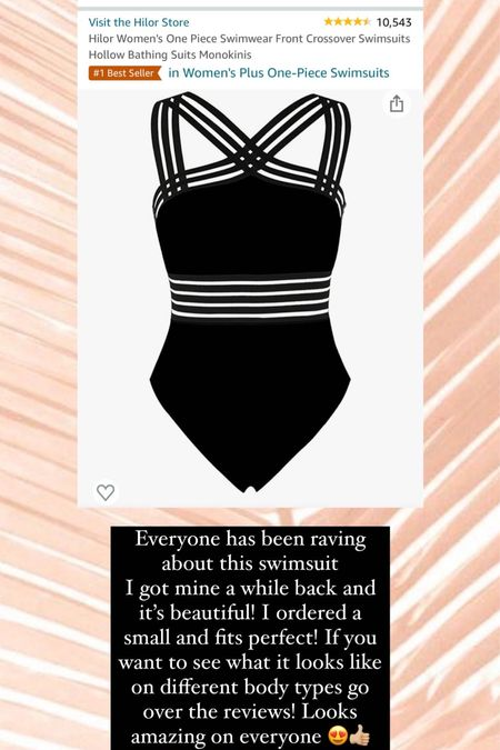 Amazon prime day deals! This best selling swimsuit is on sale today only. I wear size small   #LTKunder50 #LTKsalealert #LTKstyletip