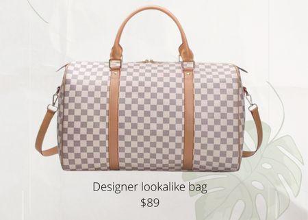 Overnight bag   travel bag   duffle bag   look for less   #LTKunder100 #LTKtravel #LTKitbag